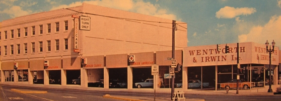 Before Powell's books this location was a Chevy dealer.