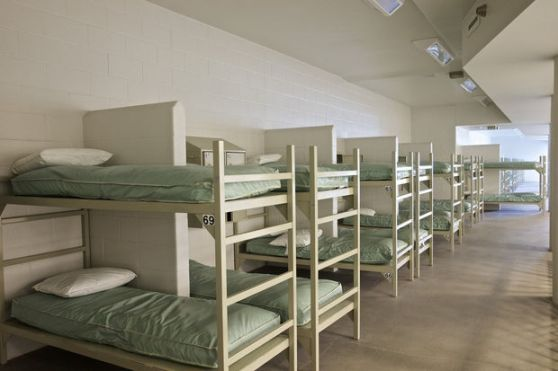 Empty beds at Wapato Jail.