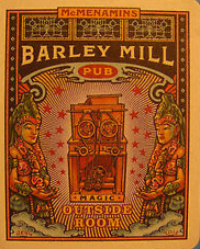 McMenamins Barley Mill named for the barley mill they bought from Cartwright Brewing
