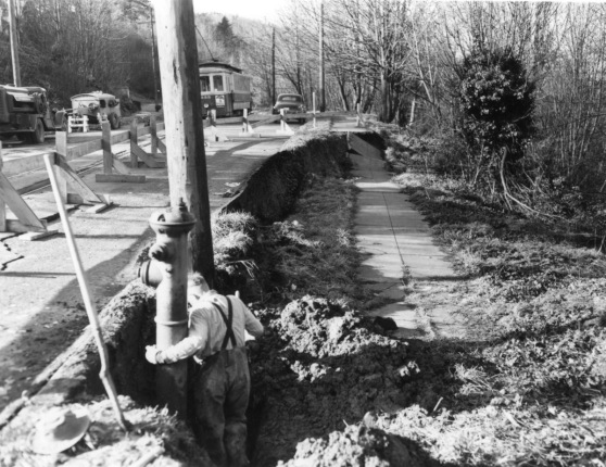 Public Works Administration NW Thurman  Photographs