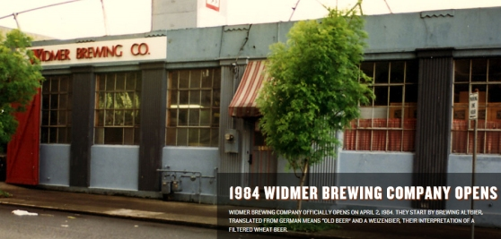 Widmer OG on NW 14th and Lovejoy